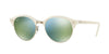 RayBan RB4246 988/2X TOP WRINKLED WHITE ON WHITE Specs at Home