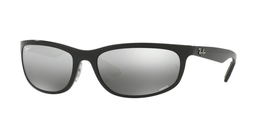 RayBan RB4265 601/5J SHINY BLACK (Polarized) Specs at Home