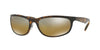 RayBan RB4265 710/A2 SHINY HAVANA (Polarized) Specs at Home