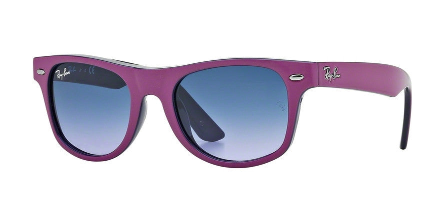 RayBan RJ9035S 147/90 FUCHSIA TOP ON METAL VIOLET Specs at Home