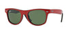 RayBan RJ9035S 162/71 TOP RED ON BLACK Specs at Home