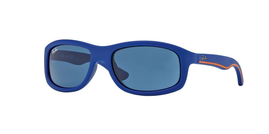 RayBan RJ9058S 700080 MATTE BLUE Specs at Home