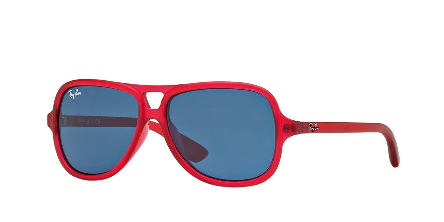 RayBan RJ9059S 197/80 MATTE RED Specs at Home