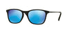RayBan RJ9061S 700555 RUBBER BLACK Specs at Home