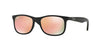 RayBan RJ9062S 70132Y MATTE BLACK ON BLACK Specs at Home