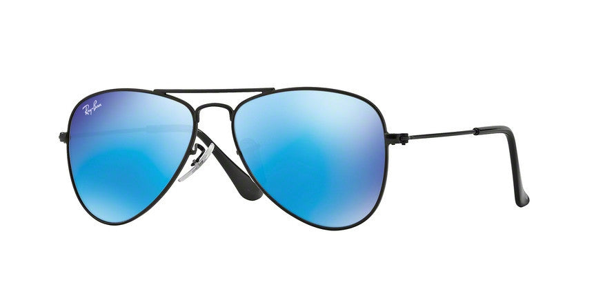 RayBan RJ9506S 201/55 MATTE BLACK Specs at Home