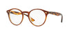 RayBan RX2180V 5677 TOP BROWN HAVANA/HORN BEIGE Specs at Home