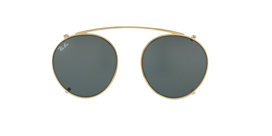 RayBan RX2447C 250071 GOLD Specs at Home