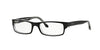 RayBan RX5114 2034 TOP BLACK ON TRANSPARENT Specs at Home