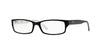 RayBan RX5114 2097 BLACK/WHITE Specs at Home