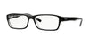 RayBan RX5169 2034 TOP BLACK ON TRANSPARENT Specs at Home