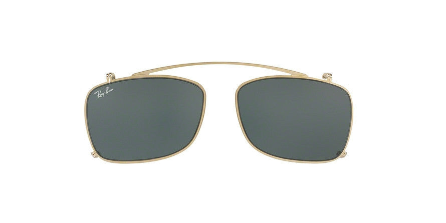 RayBan RX5228C 250071 GOLD Specs at Home