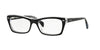RayBan RX5255 2034 TOP BLACK ON TRANSPARENT Specs at Home