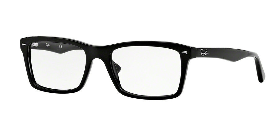 RayBan RX5287 2000 BLACK Specs at Home