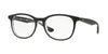 RayBan RX5356 2034 TOP BLACK ON TRANSPARENT Specs at Home