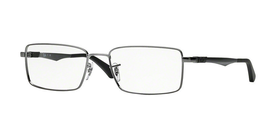 RayBan RX6275 2502 GUNMETAL Specs at Home
