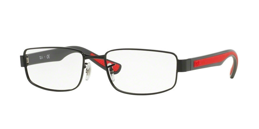 RayBan RX6318 2839 BLACK Specs at Home