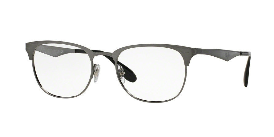 RayBan RX6346 2553 BRUSHED GUNMETAL Specs at Home