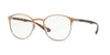 RayBan RX6355 2732 BRUSHED LIGHT BROWN Specs at Home