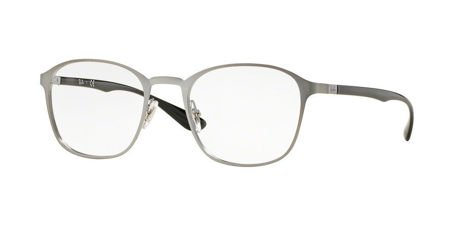RayBan RX6357 2553 BRUSHED GUNMETAL Specs at Home