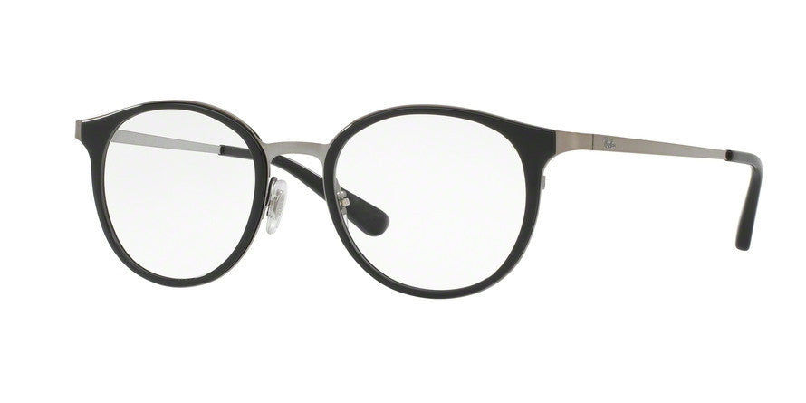 RayBan RX6372M 2502 BRUSHED GUNMETAL Specs at Home