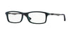RayBan RX7017 5197 TOP BLACK ON GREEN Specs at Home
