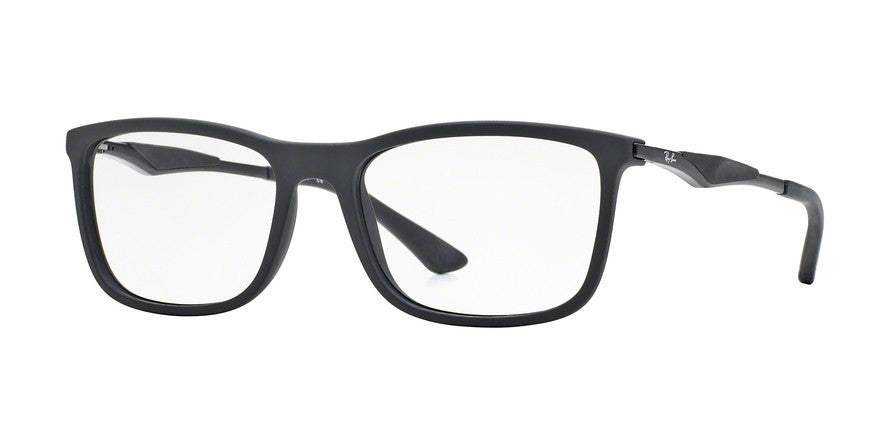 RayBan RX7029 2077 MATTE BLACK Specs at Home