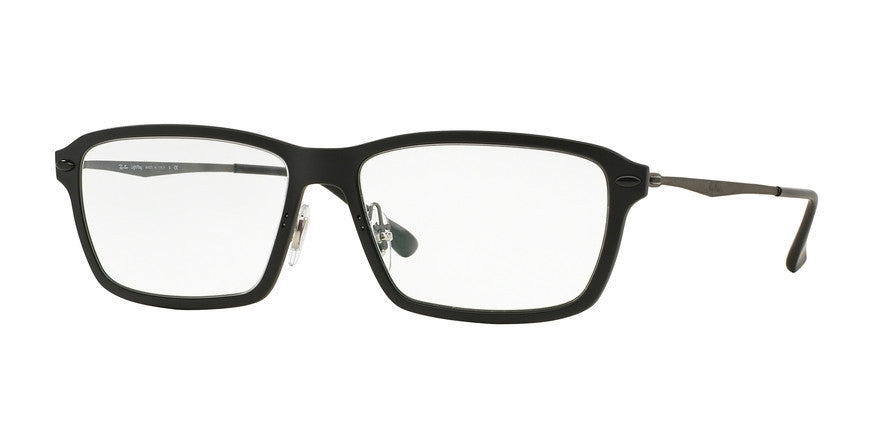 RayBan RX7038 2077 MATTE BLACK Specs at Home