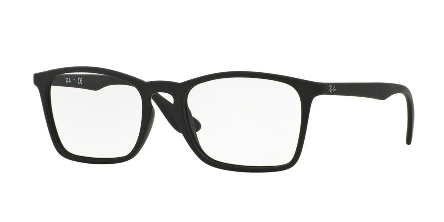 RayBan RX7045 5364 RUBBER BLACK Specs at Home
