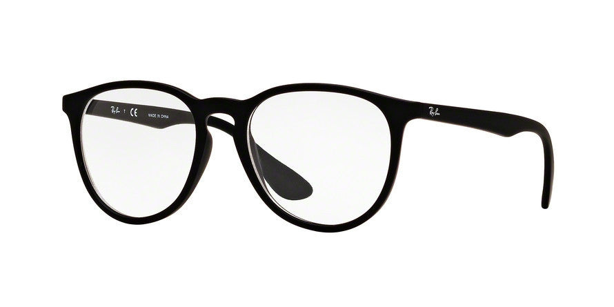 RayBan RX7046 5364 RUBBER BLACK Specs at Home