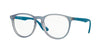 RayBan RX7046 5484 AZURE IRIDESCENT Specs at Home