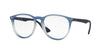 RayBan RX7046 5601 BLUE GRADIENT RUBBER Specs at Home