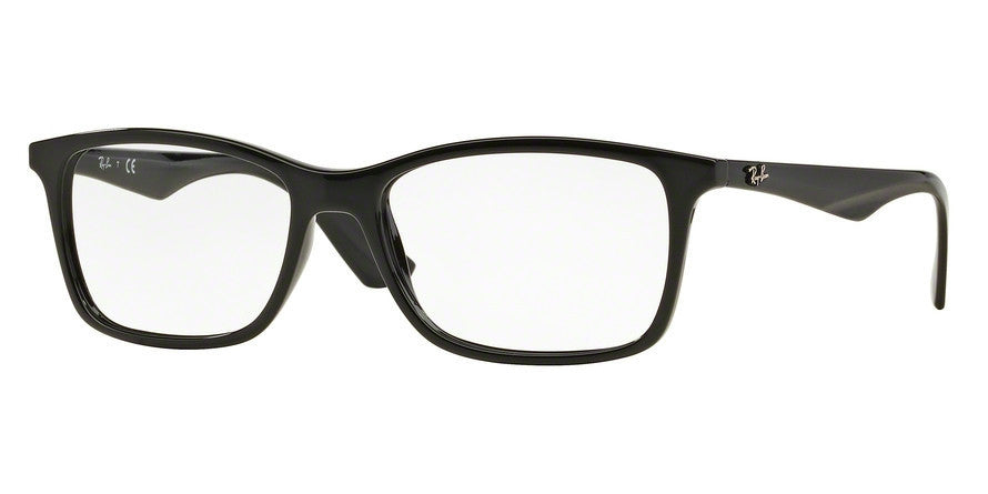 RayBan RX7047 2000 BLACK Specs at Home