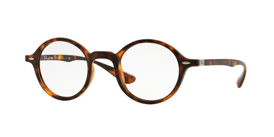 RayBan RX7069 5200 MATTE HAVANA Specs at Home