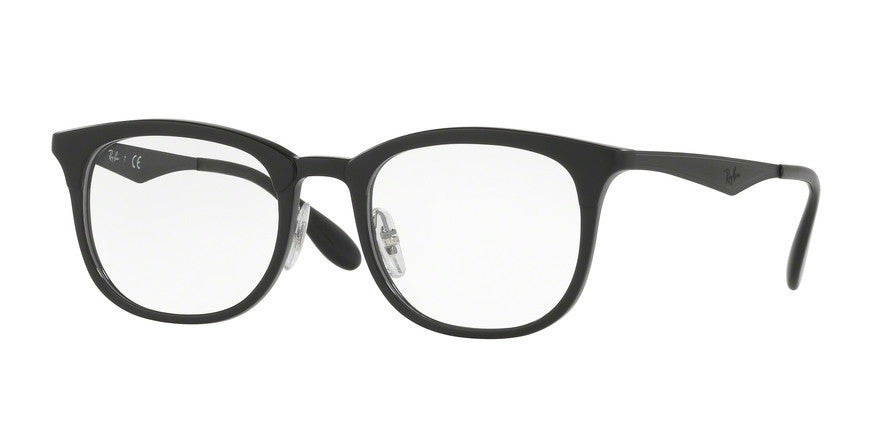 RayBan RX7112 5682 BLACK/MATTE BLACK Specs at Home