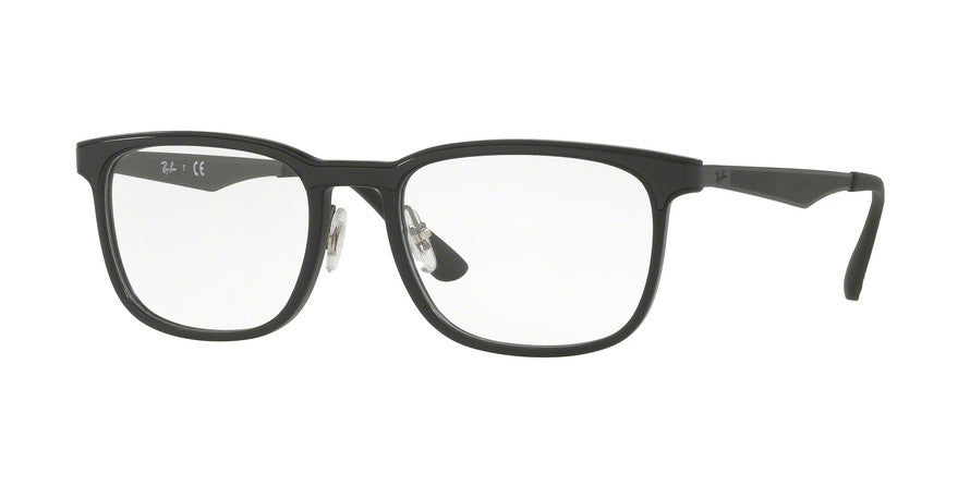 RayBan RX7163 5196 MATTE BLACK Specs at Home