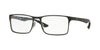 RayBan RX8415 2861 TOP SHINY BLACK ON SILVER Specs at Home