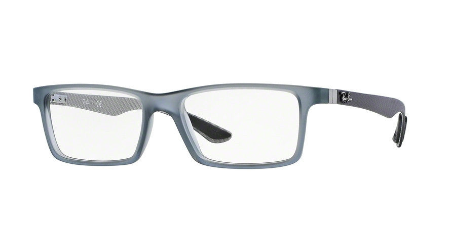 RayBan RX8901 5244 DEMI GLOSS GREY Specs at Home
