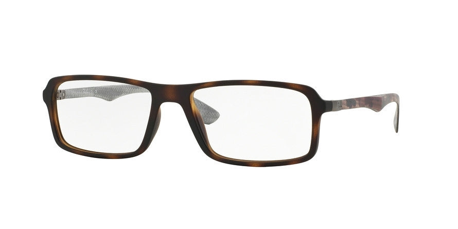 RayBan RX8902 5479 MATTE HAVANA Specs at Home