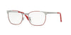 RayBan RY1051 4053 GUNMETAL TOP RED Specs at Home