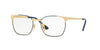 RayBan RY1051 4054 GOLD TOP BLUE Specs at Home