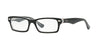 RayBan RY1530 3529 TOP BLACK ON TRANSPARENT Specs at Home