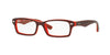 RayBan RY1530 3664 TOP RED ON RED FLUO Specs at Home