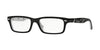 RayBan RY1535 3579 TOP BLACK ON WHITE Specs at Home