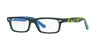 RayBan RY1535 3600 TOP DARK GREY ON BLUE Specs at Home