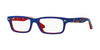 RayBan RY1535 3601 TOP BLUE ON RED Specs at Home
