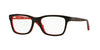 RayBan RY1536 3573 TOP BLACK ON RED Specs at Home