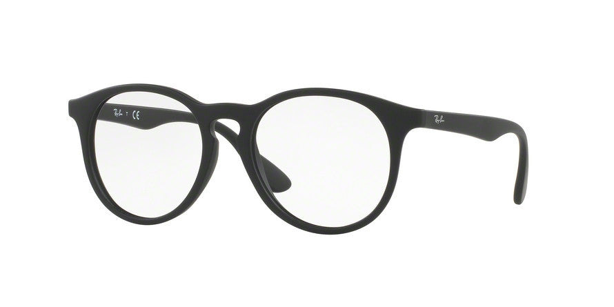 RayBan RY1554 3615 RUBBER BLACK Specs at Home