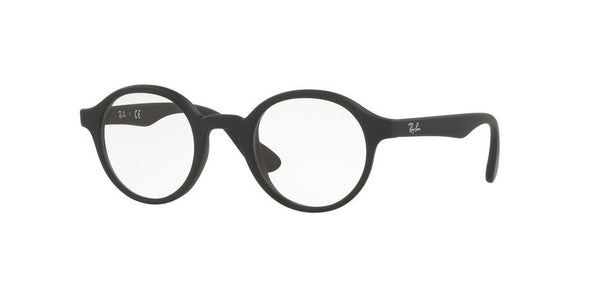 RayBan RY1561 3615 RUBBER BLACK Specs at Home