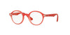 RayBan RY1561 3669 RUBBER METALLIC RED Specs at Home